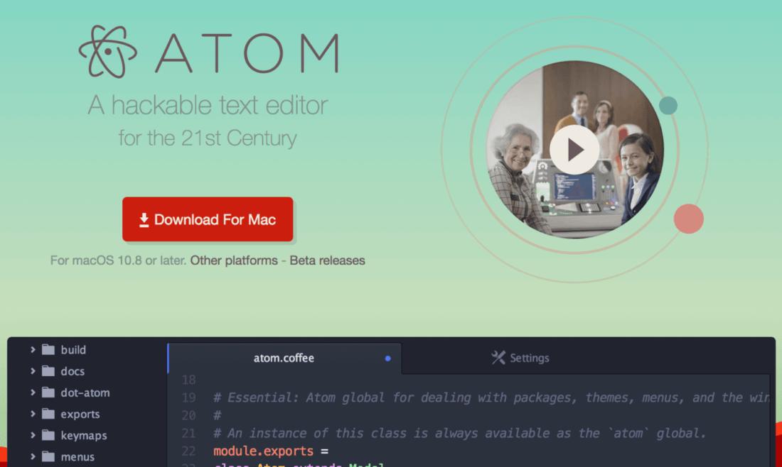 atom editör