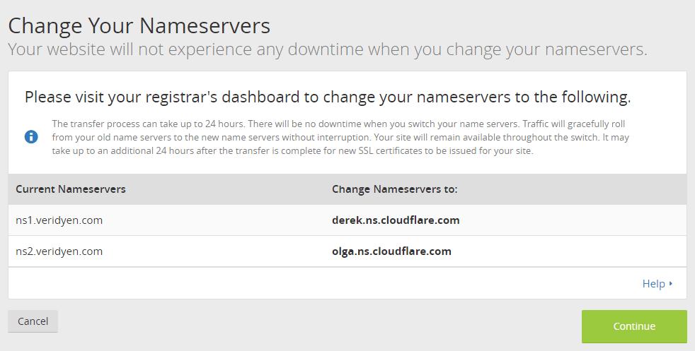 cloudflare dns değiştirme