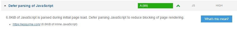 defer parsing of javascript wordpress