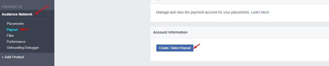 Facebook ödemesi almak