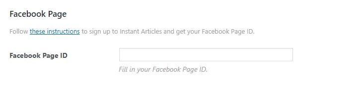 Facebook id numarası ekleme