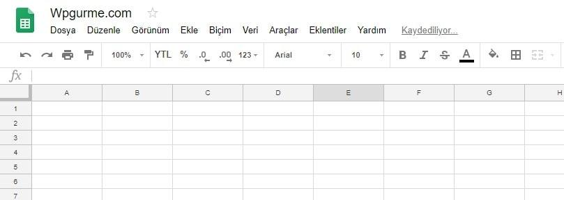 Google E-tablo WordPress