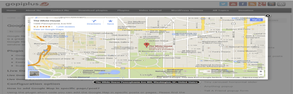 wordpress eklentisi google map with fancybox popup