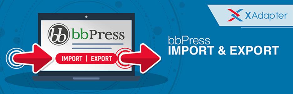 wordpress eklentisi import export for bbpress