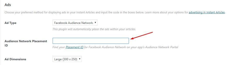 Facebook reklam kodunu WordPress ekleme