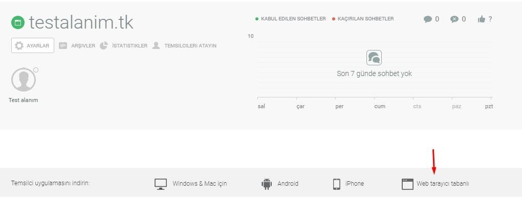 JivoChat Temsilci Uygulamaları