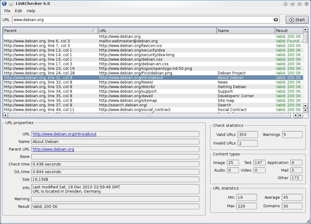 link checker programı