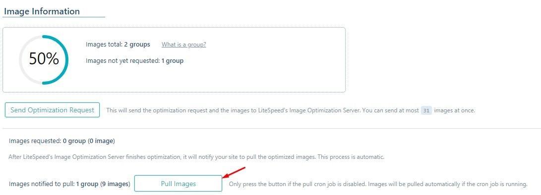 LiteSpeed Pull images