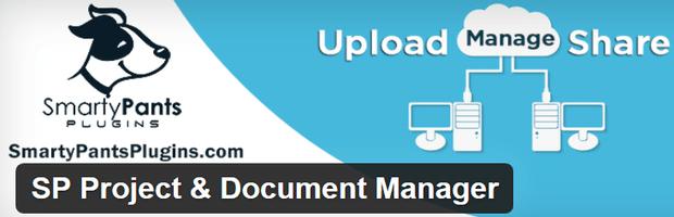 sp project document manager wordPress proje yonetim araci