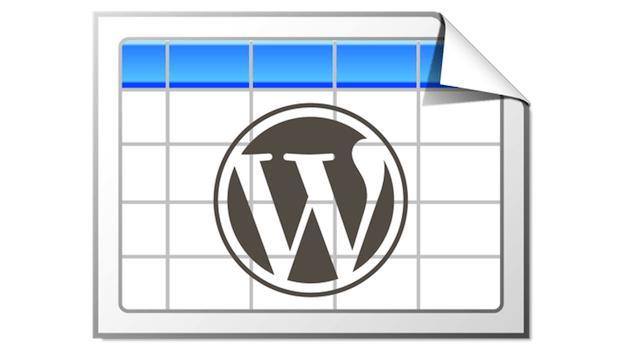 tablepress wordpress tablo eklentisi