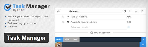 task-manager-wordpress-proje-yönetim-araci