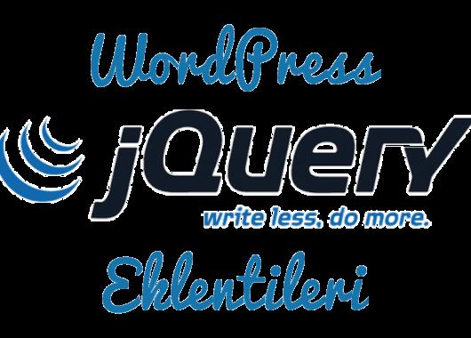 jquery eklentileri wordpress