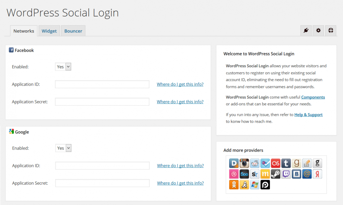 wordpress sosyal medya eklentisi wordpress social login