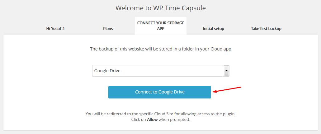 wp time capsule api bağlama